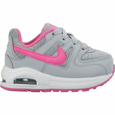 ef9303a17ea48 Nike Air Max Command Flex (TD) 844351-061 Grey Pink White Toddler Girls