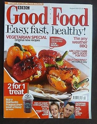 BBC Good Food, August 2002, Vegetarian Special, Any Weather BBQ Recipes