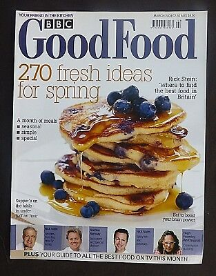 BBC Good Food, March 2004, Mix & Match Recipes, Fresh Ideas For Spring, Ramsay