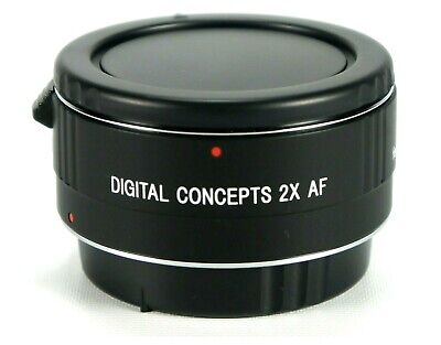 Digital Concepts 2X AF Teleconverter for Canon DSLR Digital SLR Camera & Lenses