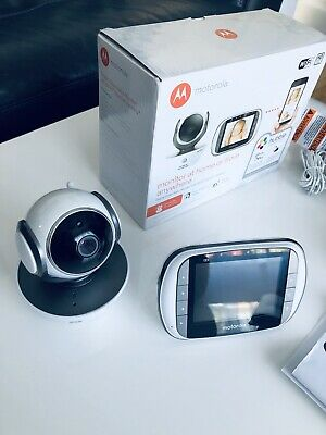 Motorola MBP853 Connect Wi-Fi HD Digital Video Baby Monitor