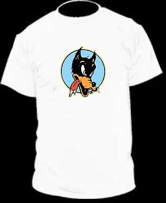 Youth and Adult sizes Available! Jerry Garcia Lone Wolf Hot Rod T-shirt