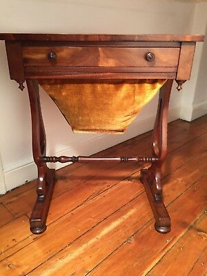 Regency Ladies Sewing Table