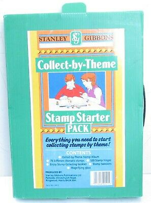 STAMP STARTER PACK – COLLECT BY THEME – Stanley Gibbons