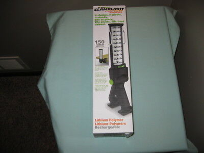 Blackfire Clamplight Rechargeable Worklight-Cars-Ladders-2X4'S-New