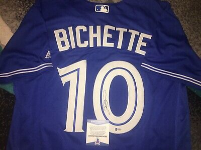 0884fd93e Bo Bichette Signed Toronto Blue Jays Jersey Future All Star Beckett  2