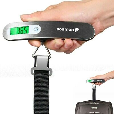 Luggage Scale Travel Portable Digital Electronic LCD Hook Hanger Weight Suitcase