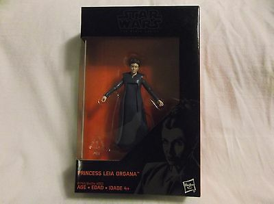 "CARRIE FISHER Princess Leia Organa Star Wars  Black Series 3.75"" Hasbro Figure"