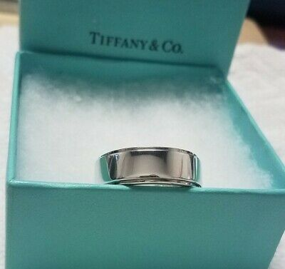 f97f34bbb TIFFANY & CO. Mens Metropolis Ring Size 13 Band Authentic T & Co ...