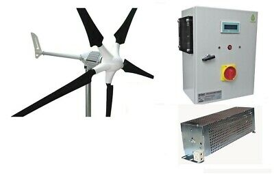 Set i-1500W 48V Windgenerator + Hybrid Charge Controller Ista-Breeze