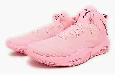 official photos fec39 d339b Nike Zoom Rev II TB PROMO KAY YOW Breast Cancer Awareness Fund Pink Mens  Size 15
