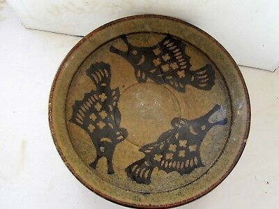"""Antique Chinese Tortoiseshell Glazed Ding Ware Bowl 6""""/15Cm D May Song,11-12Th C"""