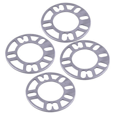 4PCS 5mm Plate 4/5 Stud Shims Aluminum Alloy Spacers Adaptor Wheel Replacement