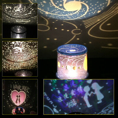LED Starry Night Sky Projector Lamp Cosmos Master Romantic Fairy Gift Light