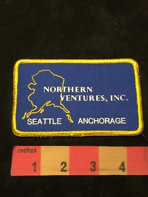 Seattle Washington Anchorage Alaska NORTHERN VENTURES INC. Fishing Patch 88NJ