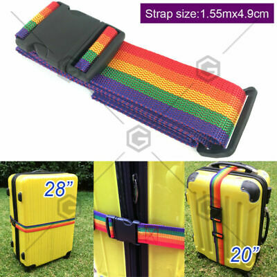Special for boarding suitcase or kids suitcase Rainbow Luggage Strap Special