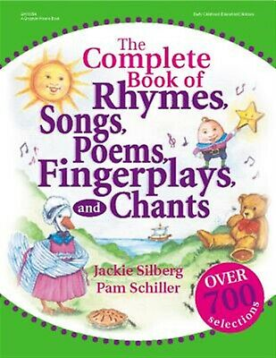 The Complete Book Rhymes Songs Poems Fingerplays Chants by Silberg Jackie