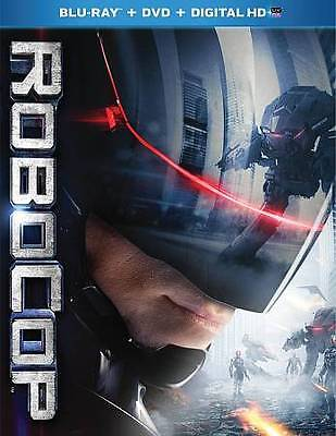 Robocop Blu-ray with DVD and Digital HD Code Stream or Download NEW & SEALED