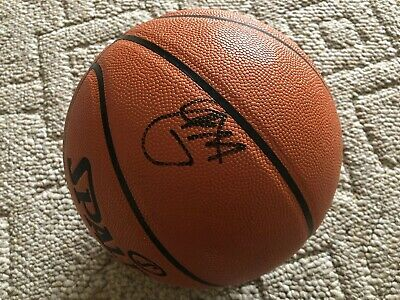 0322f7060b6d Paul George signed autographed NBA official game ball PGMVP Thunder PROOF