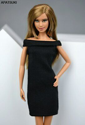 """Fashion Little Black Dress For 1/6 Doll Evening Dress Clothes For 11.5"""" Doll"""