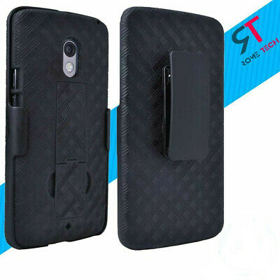 Protective Rugged Clip Holster Case Cover Kickstand For Motorola Droid Phones