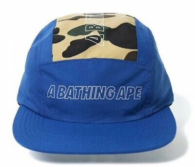 97c385f4b1054 A BATHING APE 1ST CAMO JET Adjustable Cap Blue From Japan with Tracking