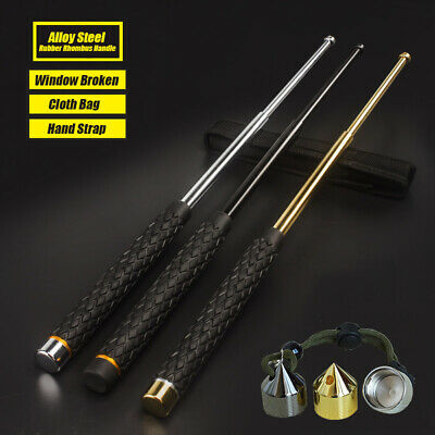 Self-defense Three Sections Telescopic Sticks Outdoor Protector Survival Tool