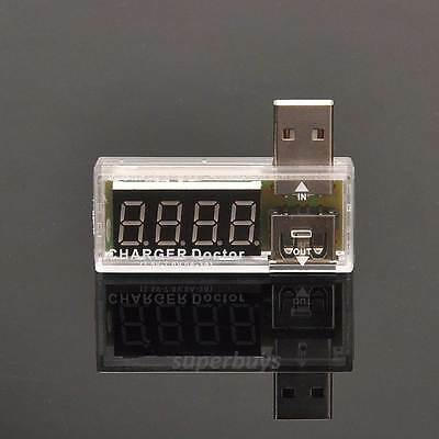 Voltage Current Detector USB Charger Doctor Mobile Tester Meter Power Output WH