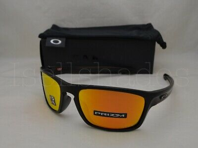 fd43f963d85e5 Oakley SLIVER STEALTH (OO9408-06 56) Matte Black with Prizm Ruby Polarized  Lens