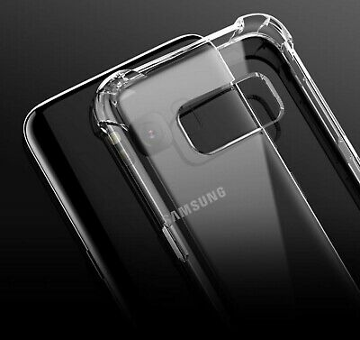 For Samsung Galaxy S10 Clear Slim Case TPU Bumper Armour Protection Gel cover