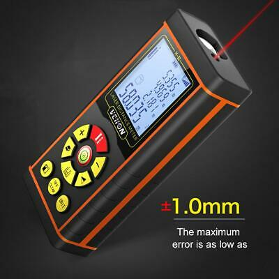 120m 40m Digital Laser Distance Meter Measurer Area Volume Range Finder Measure
