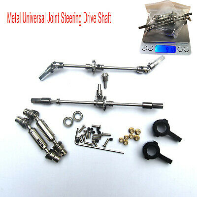 for MN1:12 D90 D91 RC Car Metal Universal Joint Steering Drive Shaft Parts Sets