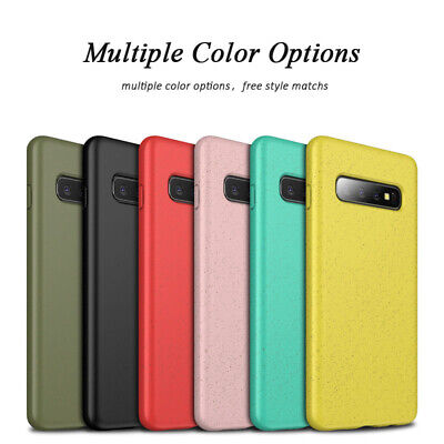 For Samsung Galaxy S10 Plus S10e Shockproof Soft Silicone Thin Matte Case Cover