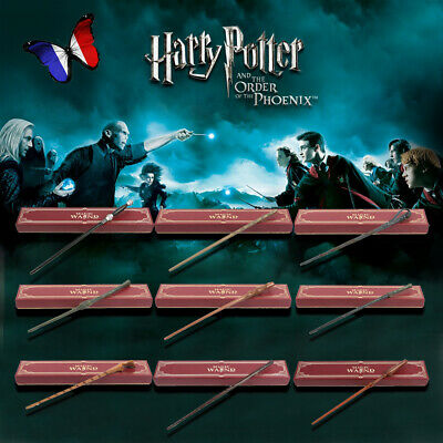 Harry Potter Résine Baguette Hermione Magie Wands Cosplay Boîte Collection Jouet
