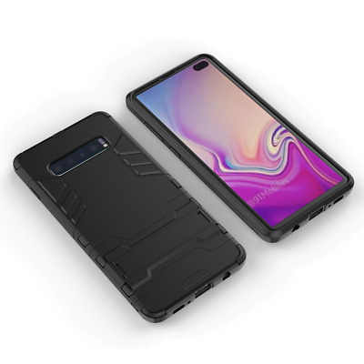 PHONE CASE For Samsung Galaxy S10 - SLIM TOUGH SHOCK PROOF BUILDER COVER STAND