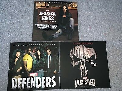 Marvel Punisher, Jessica Jones, Defenders - All 3 Shows - Free Shipping