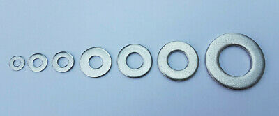 Form C Washers A2 304 Stainless Steel M4,M5,M6,M8,M10,M12,M16M20 Wide Large Flat