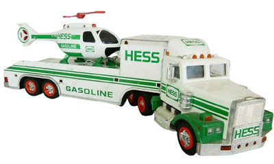 1995 Hess Truck and Helicopter not in Box
