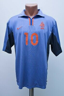 b31f6fbca Netherlands 2000 2001 2002   10 Away Football Shirt Jersey Nike Size M Adult