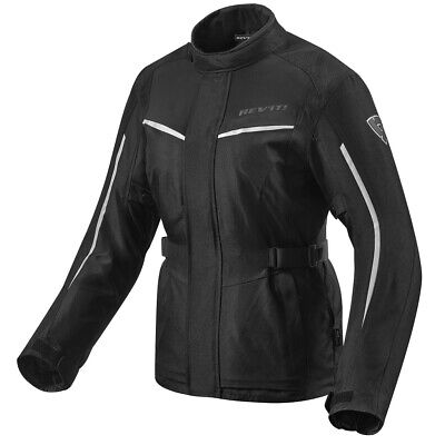 Giacca moto sport touring Rev/'it Revit Eclipse argento jacket estiva summer