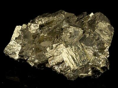 1300 g Piece of Fools Gold Pyrite Cubic Crystals