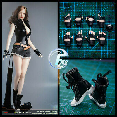 233c4b70e0930 FASTOYS 1/6 SCALE Female Clothing Set Sexy leather suit for Hot Toys ...