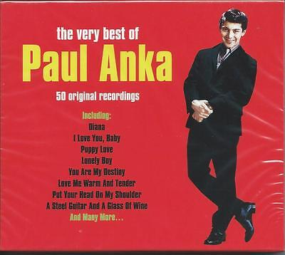 Paul Anka - The Very Best Of / Greatest Hits 2CD NEW/SEALED