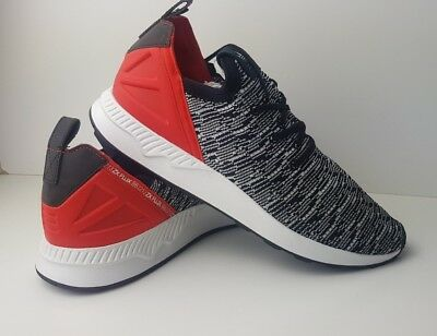 ff8e0bc13 Adidas ZX Flux ADV X Primeknit Mens Trainers Black White Red Shoes Size UK  8.5