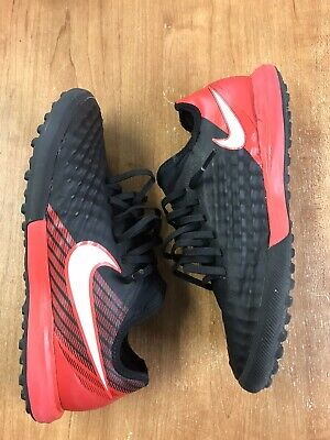 b4bf944fe963 Nike MagistaX Finale II TF Indoor Soccer Shoes (Black White Red) Men s