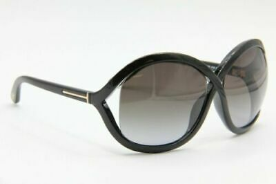 8f3b9b169e1 New Tom Ford Tf 297 01B Sandra Black Gradient Authentic Sunglasses 62-15  120 M56