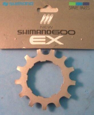 7//8-Speed Shimano Dura Ace 13T Cog W//Spacer UniGlide Cassette Silver NEW//NOS