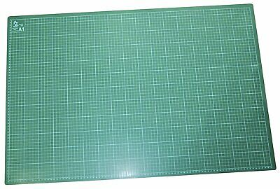 Set Of Amtech A1 Self Healing Grid Cutting Mat Non Slip Board + Rotary Cutter
