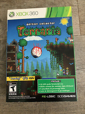 Terraria Édition Collector, XBOX 360, New/Neuf French Cover