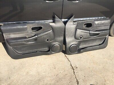 98 04 Chevy Blazer Jimmy S 10 Gmc Sonoma Front Door Panels Manual Oem